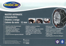 Chaînes neige MasterAutomatic 4800