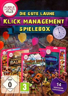 PC - Purple Hills: Die gute Laune Klick Management Spielbox