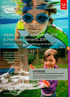 PC/Mac - Photoshop Elements 2019 & Premiere Elements 2019 Upgrade (D)