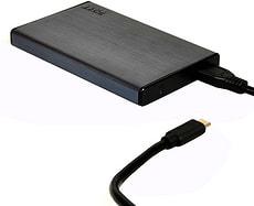 USB tipo C hard disk box esterno