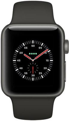Watch Edition GPS/LTE 38mm gray/black