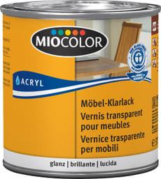 Laque transparente pour meubles brillante Incolore 375 ml