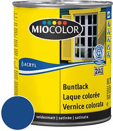 Acryl Buntlack seidenmatt Enzianblau 125 ml