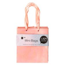 Minibags, rot, 8 x 8.9 x 4 cm, 3 Stk.