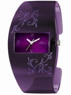 L- s.Oliver LIFESTYLE violet montre