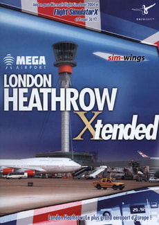 PC - London Heathrow Mega Airport Xtrended pour FS2004/X et Prepar3D V2