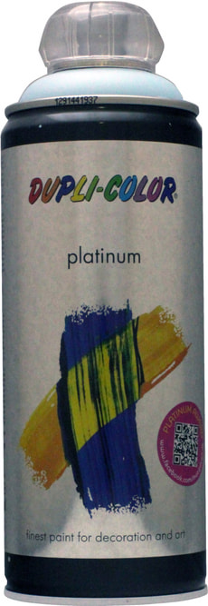 Peinture en aérosol Platinum mat