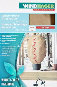 """Haube """"Hirsch"""" XXL 1.4 x 2 m beige"""