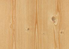 Feuilles autocollantes de décoration pin noueux, clair