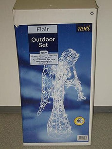 FLAIR OUTDOOR ANGELO, LED BIANCO