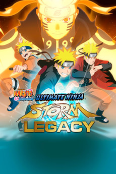 PC - Naruto Ultimate Ninja Storm - Legacy - D