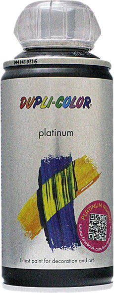 Peinture en aérosol Platinum brillant