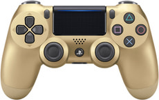 PS4 Wireless DualShock Controller v2 gold