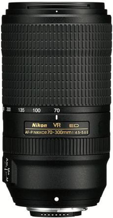 Nikkor AF-P 70-300 1:4,5-5,6E ED VR Objektiv