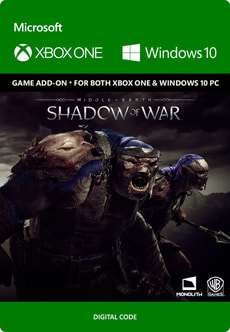 Xbox One - Middle-earth: Shadow of War - Slaughter Tribe Nemesis Expansion