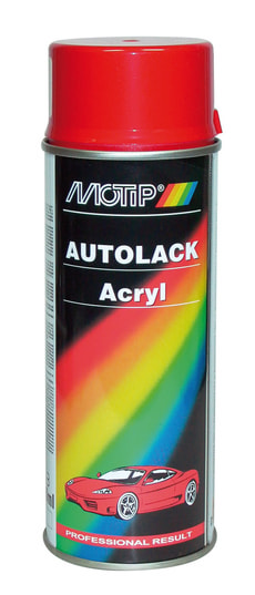 Acryl-Autolack 41210 rot