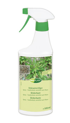 Unkrautvertilger Spray, 500 ml