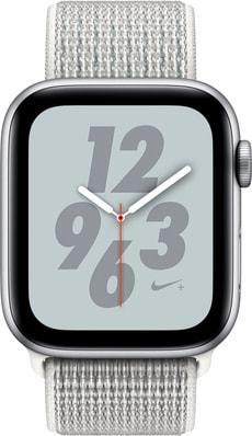 Watch Nike+ 44mm GPS+Cellular silver Aluminum Summit White Nike Sport Loop