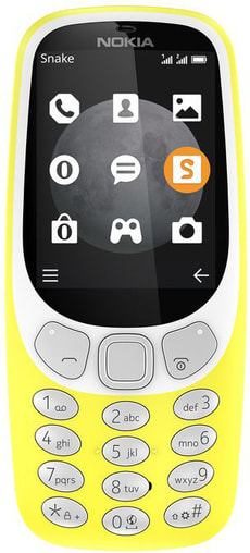 3310 Dual SIM giallo