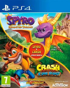 PS4 - Spyro + Crash Remastered Spiele Bundle D