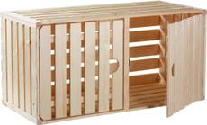 Holzharasse A1/1 mit Türe