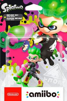 Amiibo - Splatoon Character - Inkling Boy neon-green