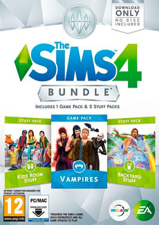 PC - The Sims 4 - Bundle 4