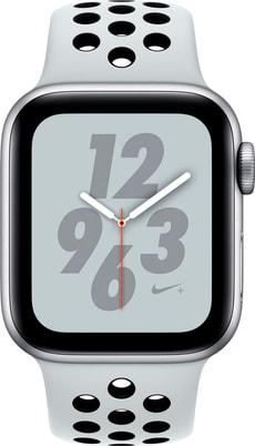 Watch Nike+ 40mm GPS silver Aluminum Pure Platinum Nike Sport Band