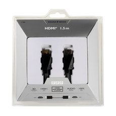 Sound & Image HighSpeed HDMI-Kabel mit Ethernet 1.5m