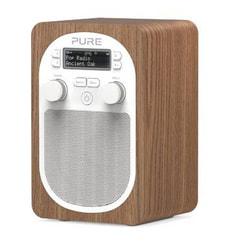 PURE Evoke D2 Oak DAB+/UKW Digitalradio