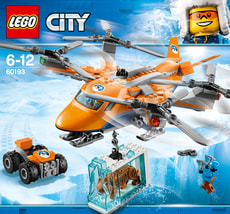 Lego City Arktis-Frachtflugzeug 60193