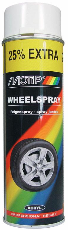 Extra Wheelspray weiss