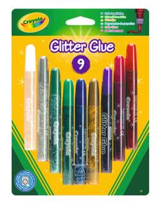 Crayola Glitzerkleber 9 Stk.