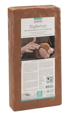 Argile de potier 10kg terre cuite