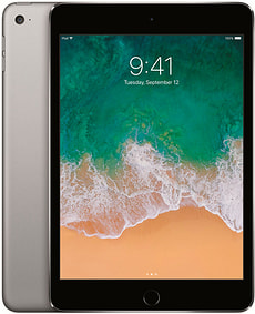 iPad mini 4 WiFi 128GB spacegray