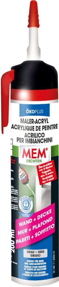 Maler-Acryl Ökoplus grau, 200 ml