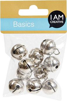 Clochettes métal argent