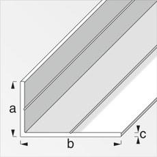 Cornière 35.5 x 65.6 mm brut 1 m