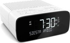 Pure Siesta S2 Radiowecker weiss