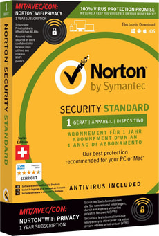 PC/Mac/Android/iOS - Norton Security 3.0 with WiFi 1 Device