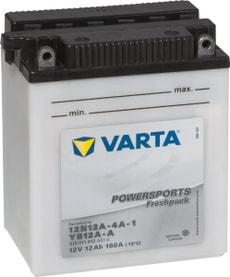Motorradbatterie 12N12A-4A-1 /  YB12A-A 12V 12Ah 120A