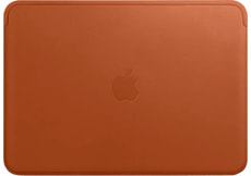 Leather Sleeve MacBook Saddle Brown