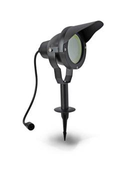 EASY CONNECT LED Projecteur aluminium noir, 10 W