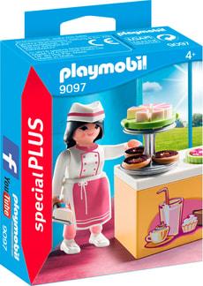 Playmobil Special Plus Konditorin mit Kuchentheke 9097