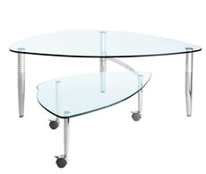 MONA TABLE SALON VERRE P1/2