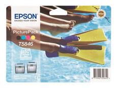Tintenpatrone PicturePack / cyan, magenta, gelb, schwarz
