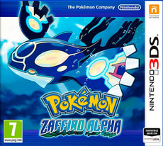 3DS - Pokémon Zaffiro Alpha
