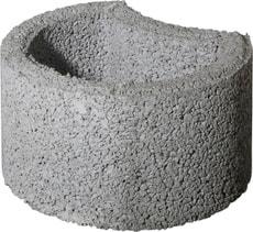 Palette 40 Eléments pour talus gris