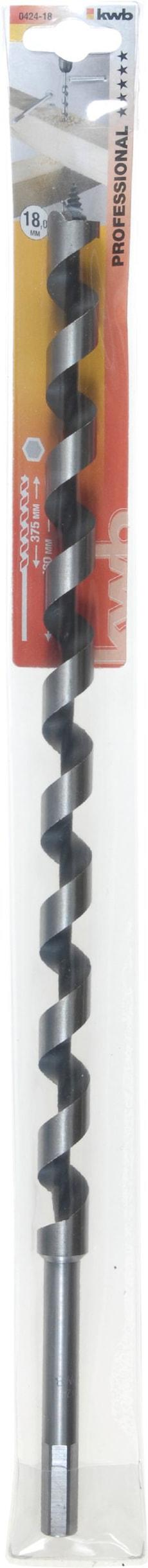 Schlangenbohrer, 460 mm, ø 18 mm