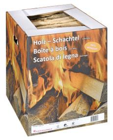 Brennholz Buche 25 kg im Karton